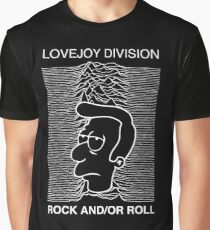 joy division - rock and/or roll Graphic T-Shirt