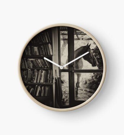 Visitor Clock