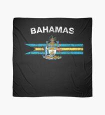 Bahamas Flag Shirt - Bahamas Emblem & Bahamas Flag Shirt Scarf