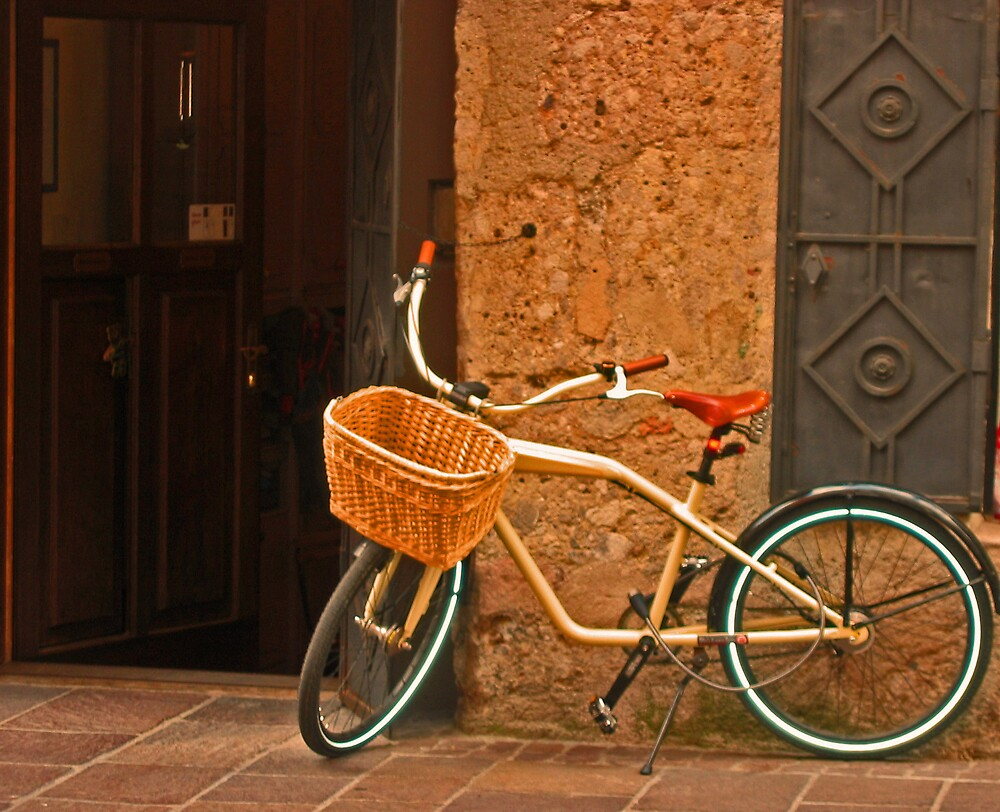 The Old Bicycle by Josette21