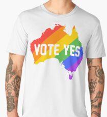vote yes australia Men's Premium T-Shirt