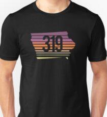 319 Iowa Sunset Gradient Unisex T-Shirt