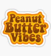 Peanut Butter Vibes Sticker