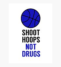 Fresh Prince of Bel-Air - Shoot Hoops Not Drugs Photographic Print