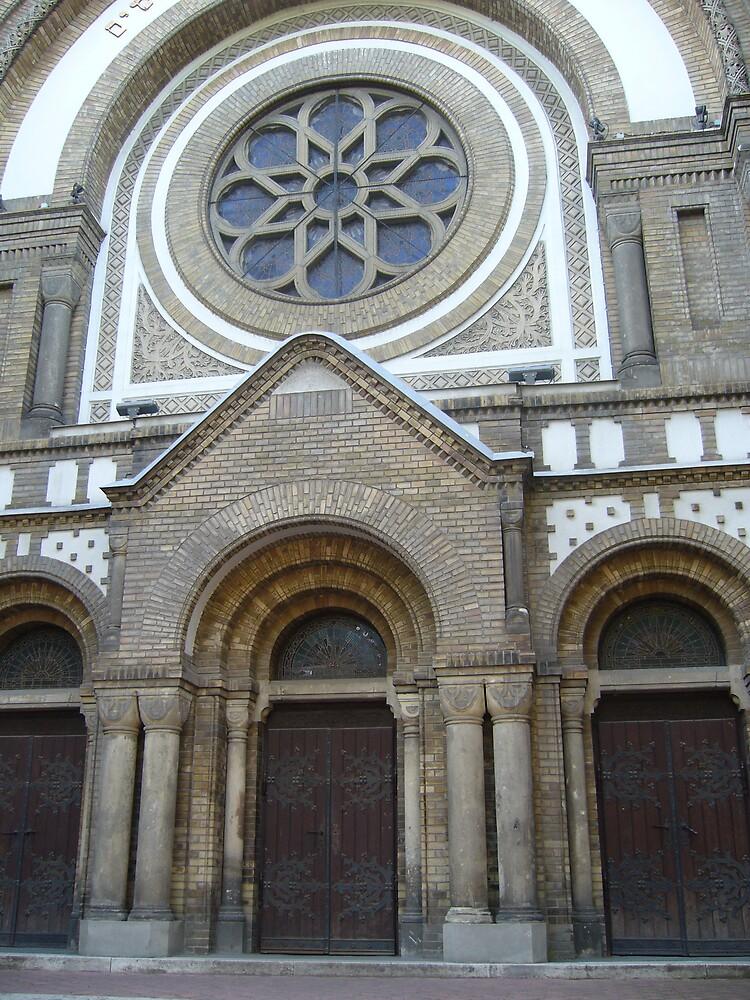 synagogue doors (Serbia- Novi Sad) by Natasha Matic