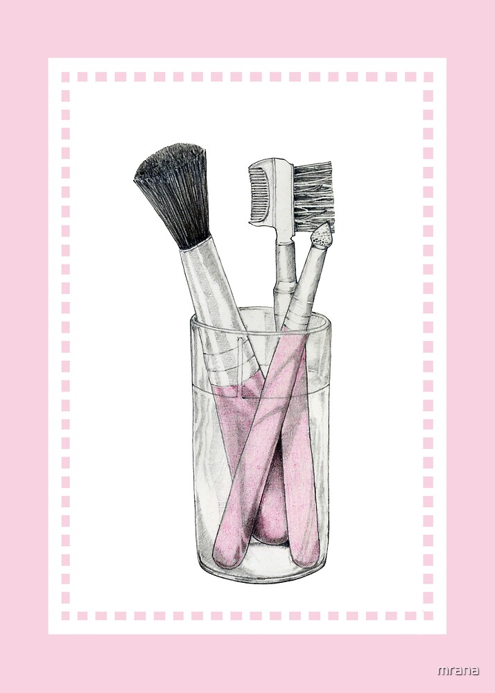 Makeup Brushes by Mariana Musa