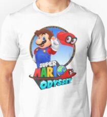 Super Mario Odyssey - Mario Art T-Shirt