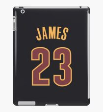 LeBron James Jersey iPad Case/Skin