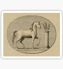 Classical Horse Sticker