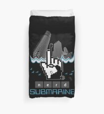 Nerd Submarine Duvet Cover