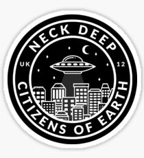 NECK DEEP - Citizens of Earth Sticker