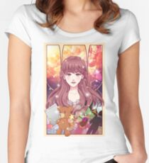 Shelter Rin Portrait Women's Fitted Scoop T-Shirt