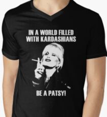 be a patsy Men's V-Neck T-Shirt