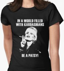 be a patsy Women's Fitted T-Shirt