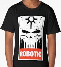Warhammer 40k Inspired Necrons - Necron Robotic Long T-Shirt