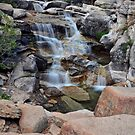 Shirley Canyon Waterfall in August 2017 by David Galson