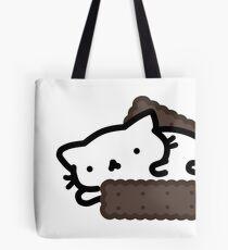 Marshmallow Bean: I want ice cream Tote Bag