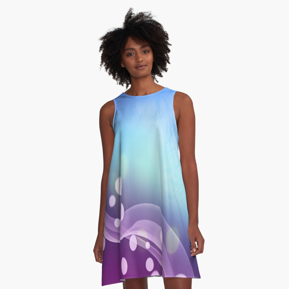 Rubble Bubble A-Line Dress Front