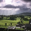 Morning Showers, The Lake District by Lucy Hollis