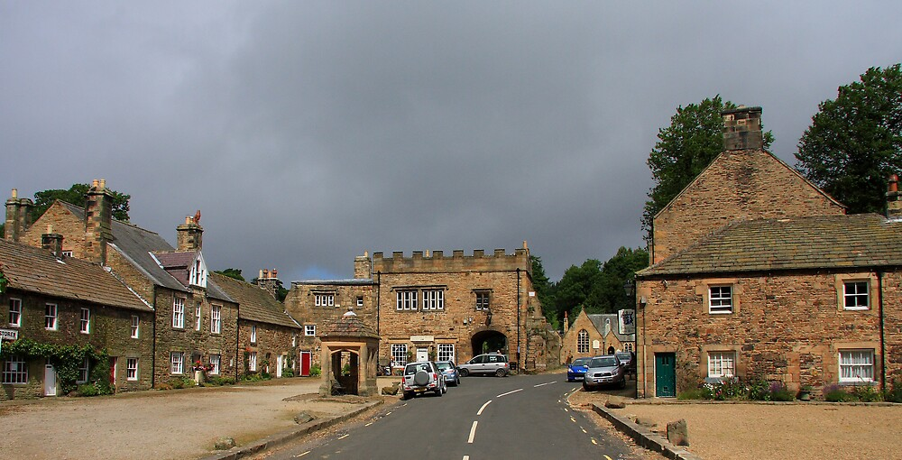 Blanchland Village by Dave Law
