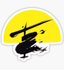 Miss Saigon Logo Sticker