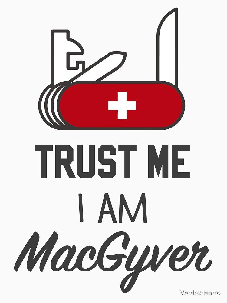 MacGyver by Verdexdentro