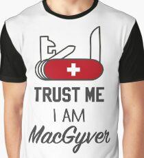 MacGyver Graphic T-Shirt