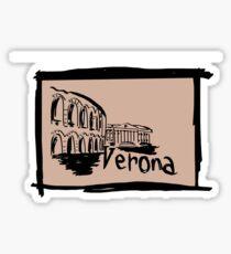 Verona sketch Sticker