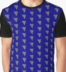 Lightning on Blue Graphic T-Shirt
