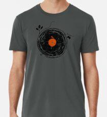 Bezaubernde Schallplatten Vintage Männer Premium T-Shirts