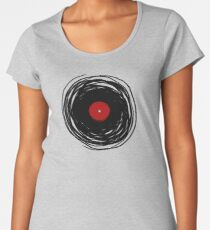 Spinning within with a vinyl record... Women's Premium T-Shirt