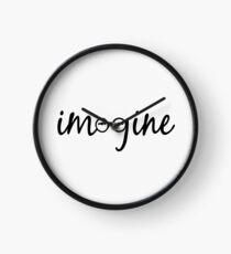 Imagine - John Lennon  Clock