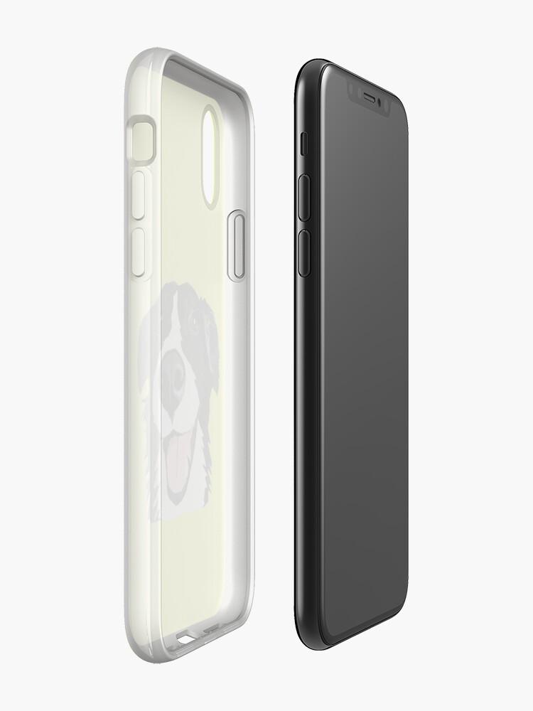 Alternative Ansicht von Smiley-Collie iPhone-Hülle & Cover