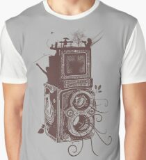 Retro Rolleiflex - Evolution of Photography - Vintage #2 Graphic T-Shirt