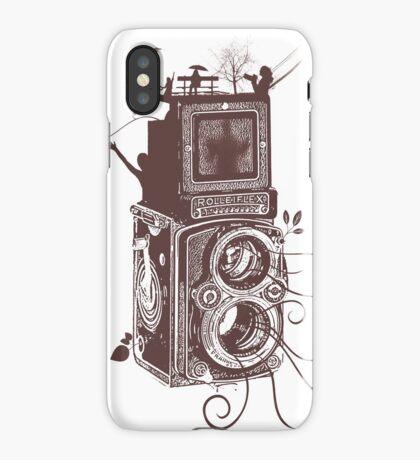 Retro Rolleiflex - Evolution of Photography - Vintage #2 iPhone Case/Skin