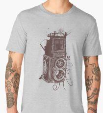 Retro Rolleiflex - Evolution of Photography - Vintage #2 Men's Premium T-Shirt
