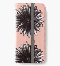 Ink Flower  iPhone Wallet/Case/Skin