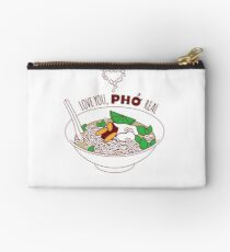 Love You Pho Real Studio Pouch