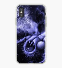 TIME AERIALS Squamafly Blue iPhone Case