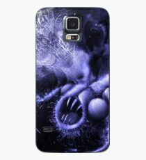 TIME AERIALS Squamafly Blue Case/Skin for Samsung Galaxy