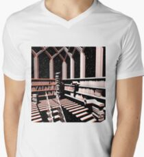 TIME AERIALS The Mind Library V-Neck T-Shirt