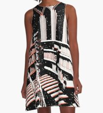 TIME AERIALS The Mind Library A-Line Dress