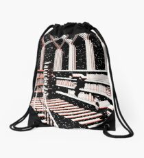 TIME AERIALS The Mind Library Drawstring Bag