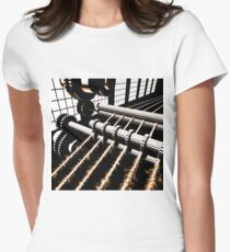 TIME AERIALS Industrial Revolutions Women's Fitted T-Shirt