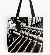 TIME AERIALS Industrial Revolutions Tote Bag