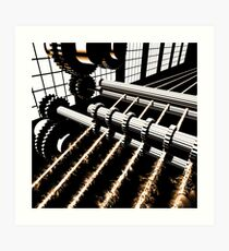 TIME AERIALS Industrial Revolutions Art Print