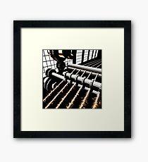 TIME AERIALS Industrial Revolutions Framed Art Print