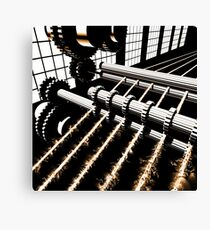 TIME AERIALS Industrial Revolutions Canvas Print