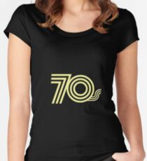 70s Women's Fitted Scoop T-Shirt