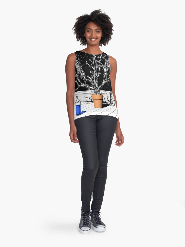 Alternate view of TIME AERIALS Time Aerials Sleeveless Top